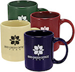 11oz Color Ceramic Mugs